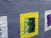 modern quilt by Haleh