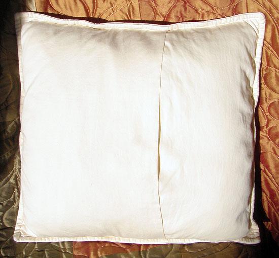 Trapunto Pillow Karen Desparois