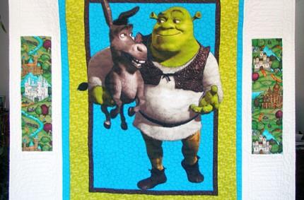 Shrek Quilt